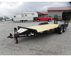 #RT20487 - 2018 Rice Trailers Magnum 82X20 EQUIPMENT TRAILER