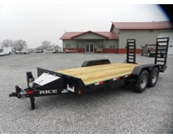 #RT20483 - 2018 Rice Trailers Magnum 82X18 EQUIPMENT TRAILER