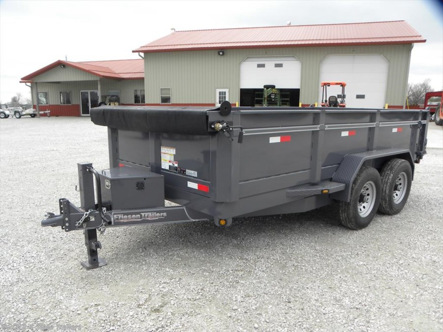 "2018 Friesen 83""X14' DUMP TRAILER"