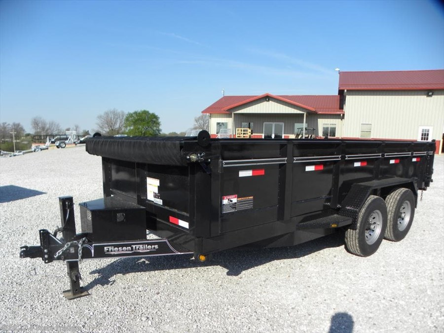 "2018 Friesen 83""X16' DUMP TRAILER"