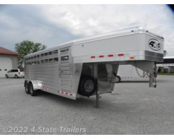 "#4S37196 - 2019 4-Star Runabout 6'10X20X6'6"" STOCK TRAILER"