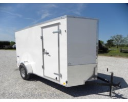 #CC34270 - 2019 Continental Cargo Value Hauler 6'x12'x6' Cargo Trailer