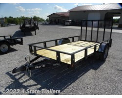 #RT21615 - 2018 Rice Trailers 76x12 Utility Trailer