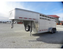 4S034204 - 2015 4-Star Runabout 6'10X17'X7' 3 HORSE SLANT ... on