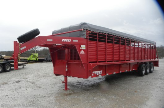 Livestock Trailer - 2019 Coose 6'8x28'x6'6 Rubber Floor Stock trailer available New in Fairland, OK