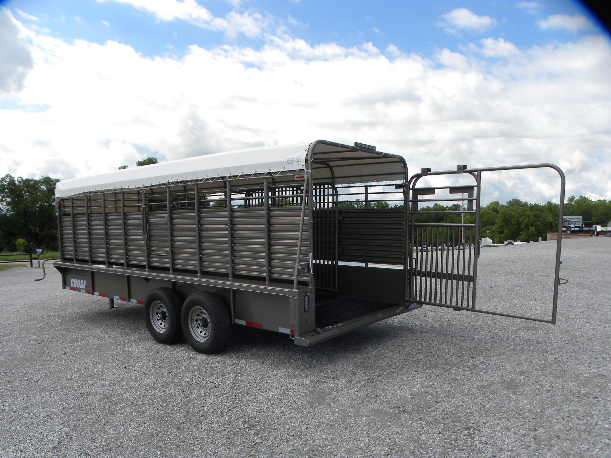Livestock Trailer For Sale New 2020 Coose 6 8x20 X6 6
