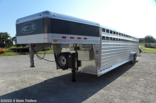 Livestock Trailer - 2020 4-Star 7'6X32X6'6 STOCK TRAILER 25K DISC BRAKES HYD JACK! available New in Fairland, OK