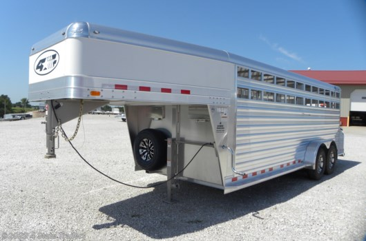 Livestock Trailer - 2020 4-Star 7X20X6'6 DELUXE STOCK TRAILER available New in Fairland, OK