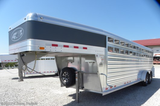 Livestock Trailer - 2020 4-Star 7X24X6'6 DELUXE STOCK TRAILER available New in Fairland, OK