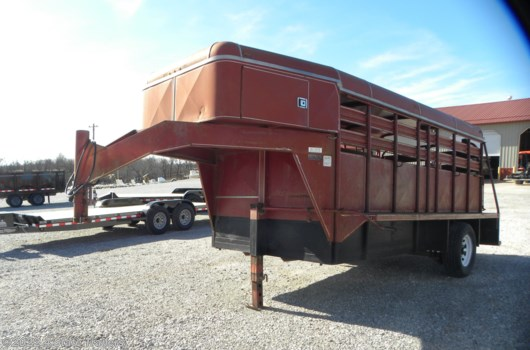 Livestock Trailer - 1992 Coose 6x14x6'6 GN Stock Trailer available Used in Fairland, OK