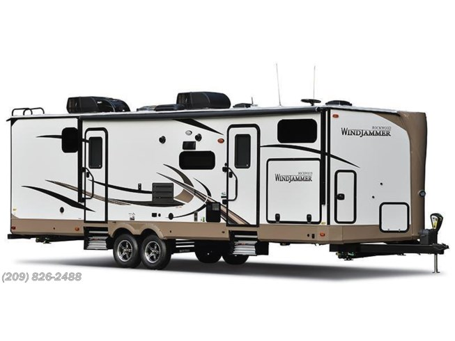 Stock Image for 2018 Forest River Rockwood Windjammer 3008V (options and colors may vary)
