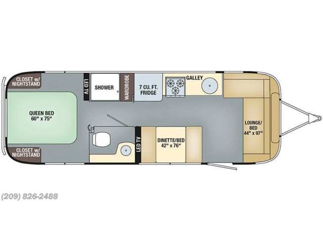 2019 Airstream RV Flying Cloud 28RB for Sale in Los Banos, CA 93635 on