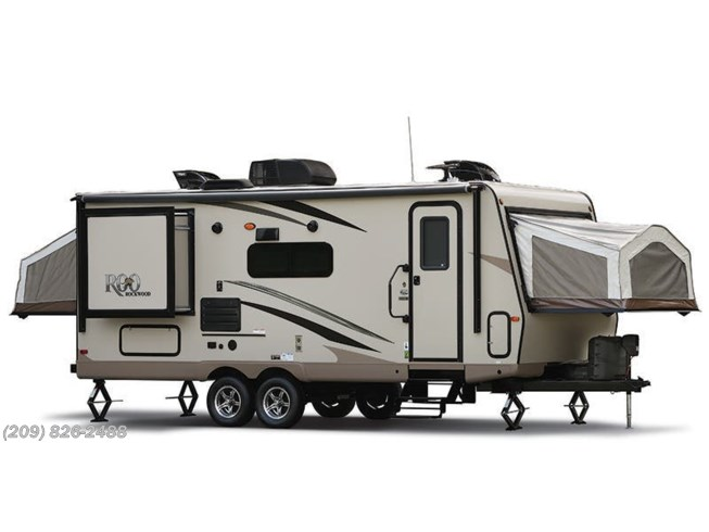 Stock Image for 2018 Forest River Rockwood Roo 19 (options and colors may vary)
