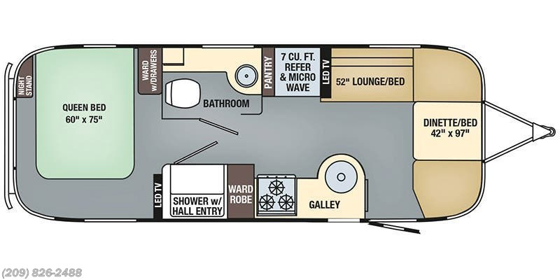 2019 Airstream Rv International Signature 25rb For Sale In