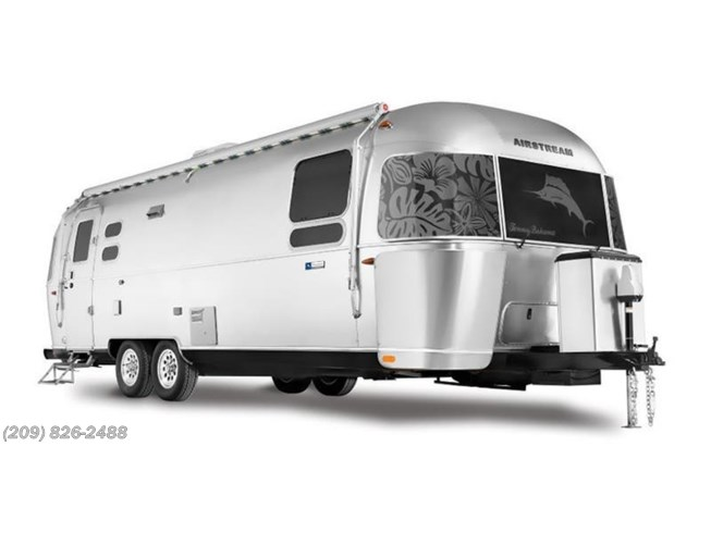 Stock Image for 2019 Airstream Tommy Bahama 27FB (options and colors may vary)