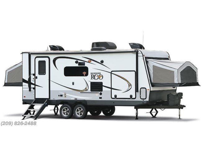 Stock Image for 2019 Forest River Rockwood Roo 23FL (options and colors may vary)