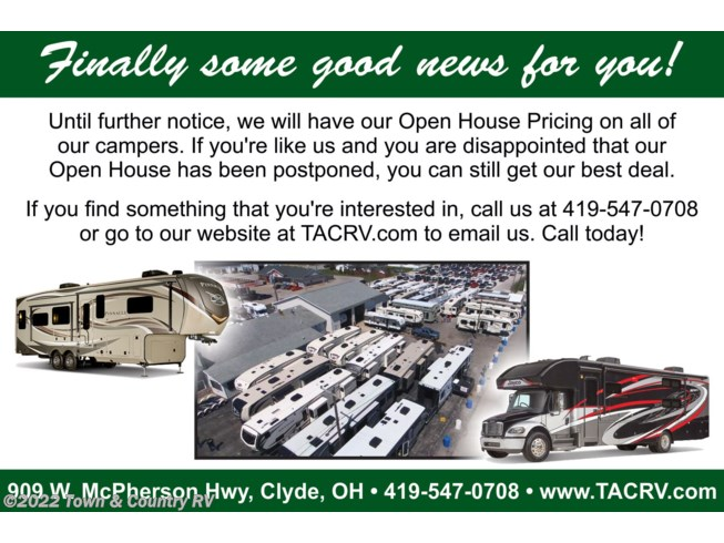2020 Pinnacle 32RLTS by Jayco from Town & Country RV in Clyde, Ohio