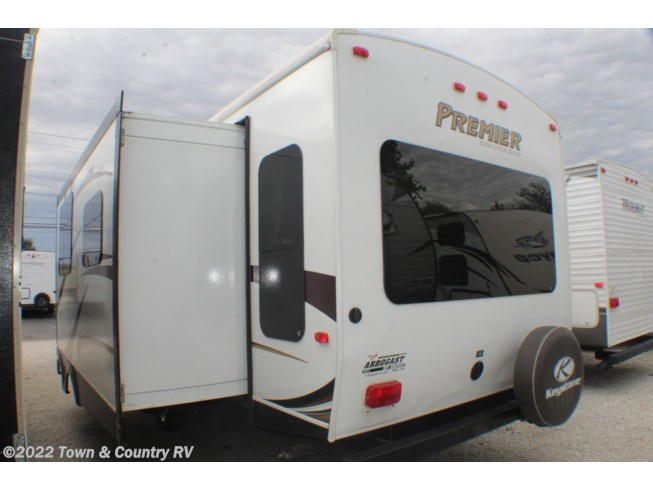 2012 Keystone Bullet Premier 30RLPR - Used Travel Trailer For Sale by Town & Country RV in Clyde, Ohio