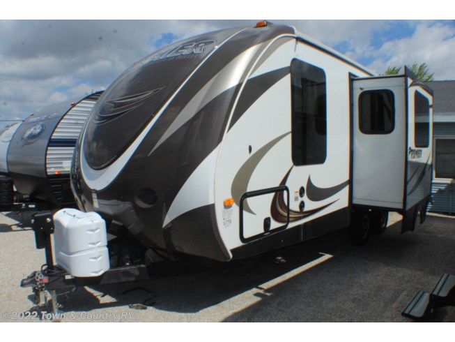 Used 2014 Keystone Bullet Premier 22RBPR available in Clyde, Ohio