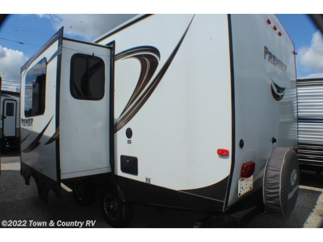2014 Keystone Bullet Premier 22RBPR - Used Travel Trailer For Sale by Town & Country RV in Clyde, Ohio