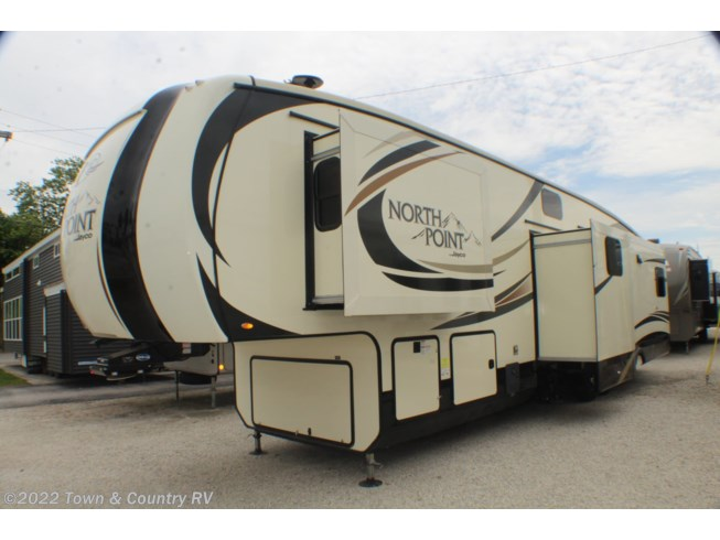 Used 2017 Jayco North Point 377RLBH available in Clyde, Ohio