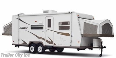 Stock Image for 2010 Forest River Rockwood Roo 233S (options and colors may vary)