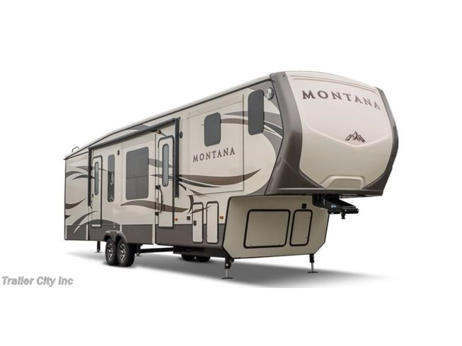 Stock Image for 2018 Keystone Montana 3820FK (options and colors may vary)
