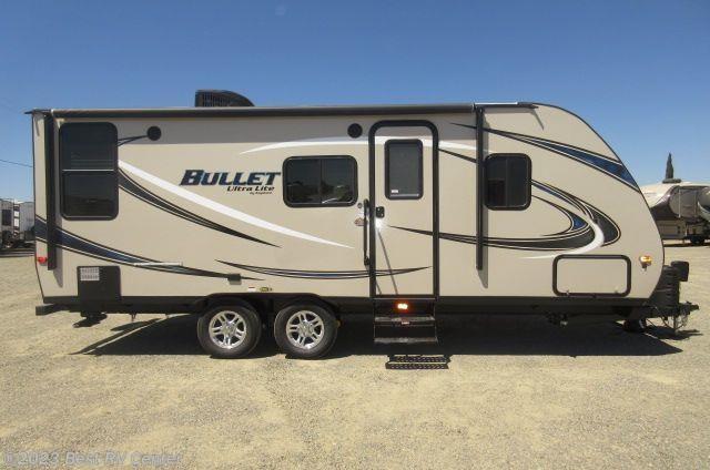 2017 Keystone RV Bullet Ultra Lite 210RUDWE Rear Living ...