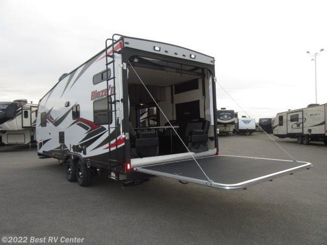 2017 Pacific Coachworks Rv Blaze N 25fbxl Front Sleeper