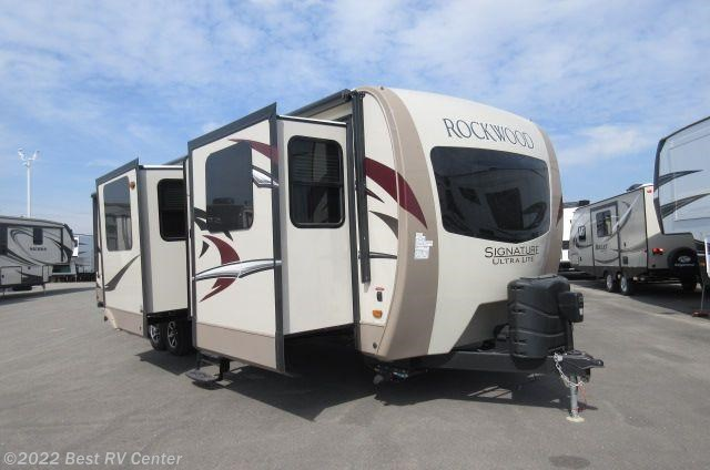2017 Forest River RV Rockwood Signature Ultra Lite 8324BS Front ...