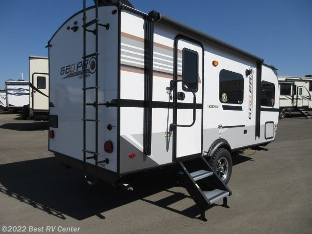 2019 Rockwood Geo Pro 19QBG Dry Weight 3106Lb /Solar System/Slide Out/ O by Forest River from Best RV Center in Turlock, California