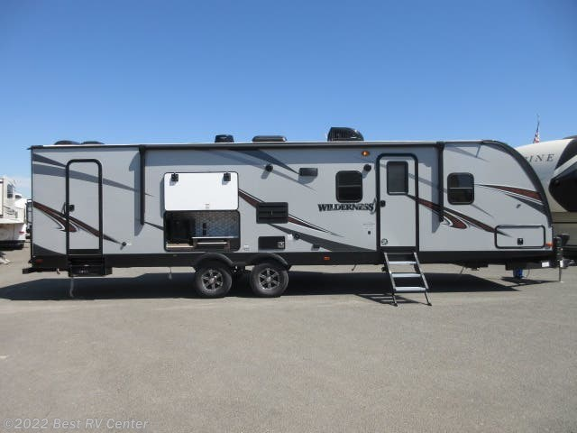 Best Entry Doors 2020 2020 Heartland RV Wilderness 3125BH U Shaped Dinette/ Two Entry