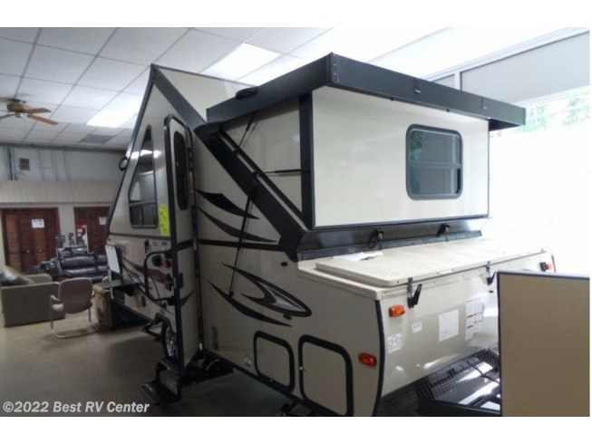 2018 Forest River Rockwood Premier HIGH WALL  A215HW Front Storage/ Rear Bed - New Popup For Sale by Best RV Center in Turlock, California features Awning, Self Contained