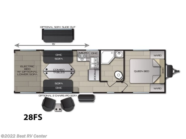 2019 Pacific Coachworks Blaze'n 28FS - New Toy Hauler For Sale by Best RV Center in Turlock, California