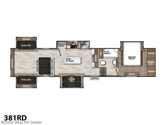 2019 Coachmen Chaparral 381RD - New Fifth Wheel For Sale by Best RV Center in Turlock, California