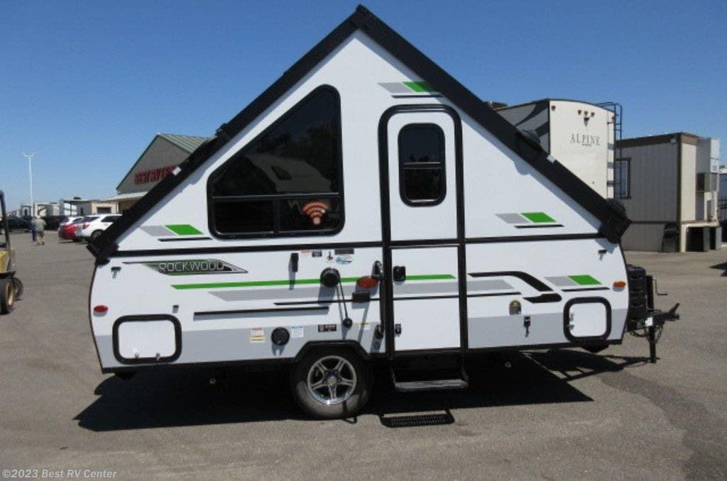 2021 Forest River Rockwood Hard Side Pop-Up Campers A122 ...