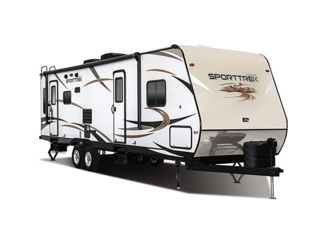 Stock Image for 2016 Venture RV SportTrek ST282VRL (options and colors may vary)