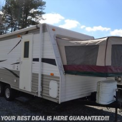 2009 Forest River Grey Wolf 18  - Expandable Trailer Used  in Seaford DE For Sale by Delmarva RV Center in Seaford call 302-212-4392 today for more info.