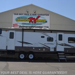 New 2019 Forest River Wildwood 32BHDS For Sale by Delmarva RV Center in Seaford available in Seaford, Delaware