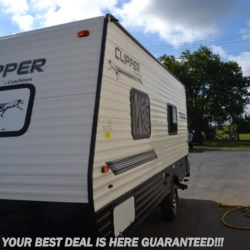 Delmarva RV Center in Seaford 2019 Clipper 17FQ  Travel Trailer by Coachmen | Seaford, Delaware