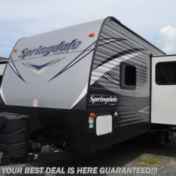 2017 Keystone Springdale 235RB  - Travel Trailer Used  in Seaford DE For Sale by Delmarva RV Center in Seaford call 302-212-4392 today for more info.