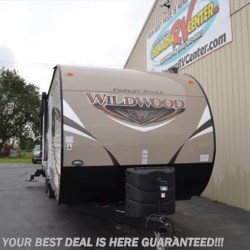 2017 Forest River Wildwood 27 RLSS  - Travel Trailer New  in Seaford DE For Sale by Delmarva RV Center in Seaford call 302-212-4392 today for more info.