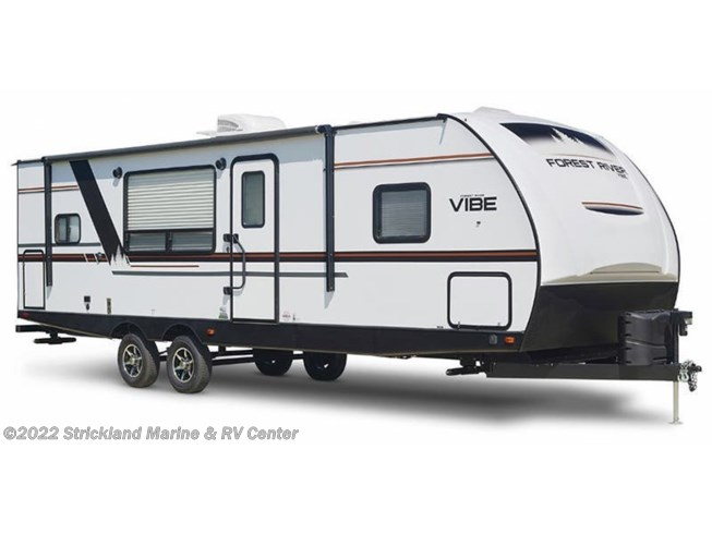 Stock Image for 2019 Forest River Vibe 22RB (options and colors may vary)