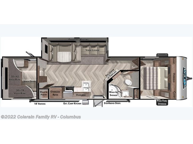 2021 Forest River Salem 29VBUD - New Travel Trailer For Sale by Colerain RV of Columbus in Delaware, Ohio