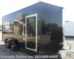 #14011 - 2018 CargoPro Stealth 7.5x16 Aluminum Insultated Enclosed Cargo Trailer