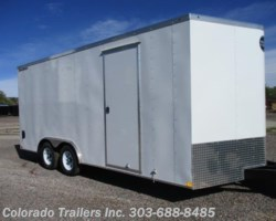 #14052 - 2018 Wells Cargo FastTrac 8.5x18+ V Enclosed Cargo Trailer