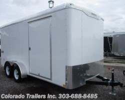 #14069 - 2018 Haulmark Transport 7x16 Enclosed Cargo Trailer