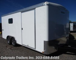 #14105 - 2018 Haulmark Transport 8.5x18 Enclosed Cargo Trailer