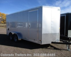 #14130 - 2018 Haulmark General 7x16+V Enclosed Cargo Trailer