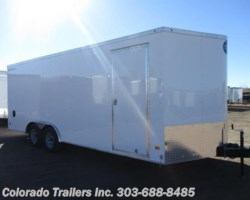 #14132 - 2018 Wells Cargo FastTrac 8.5x20+ V Enclosed Cargo Trailer